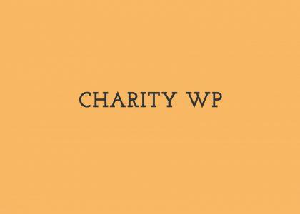 The sense of charities