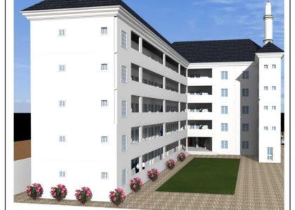 التصميم النهائي لجامعة الفجر